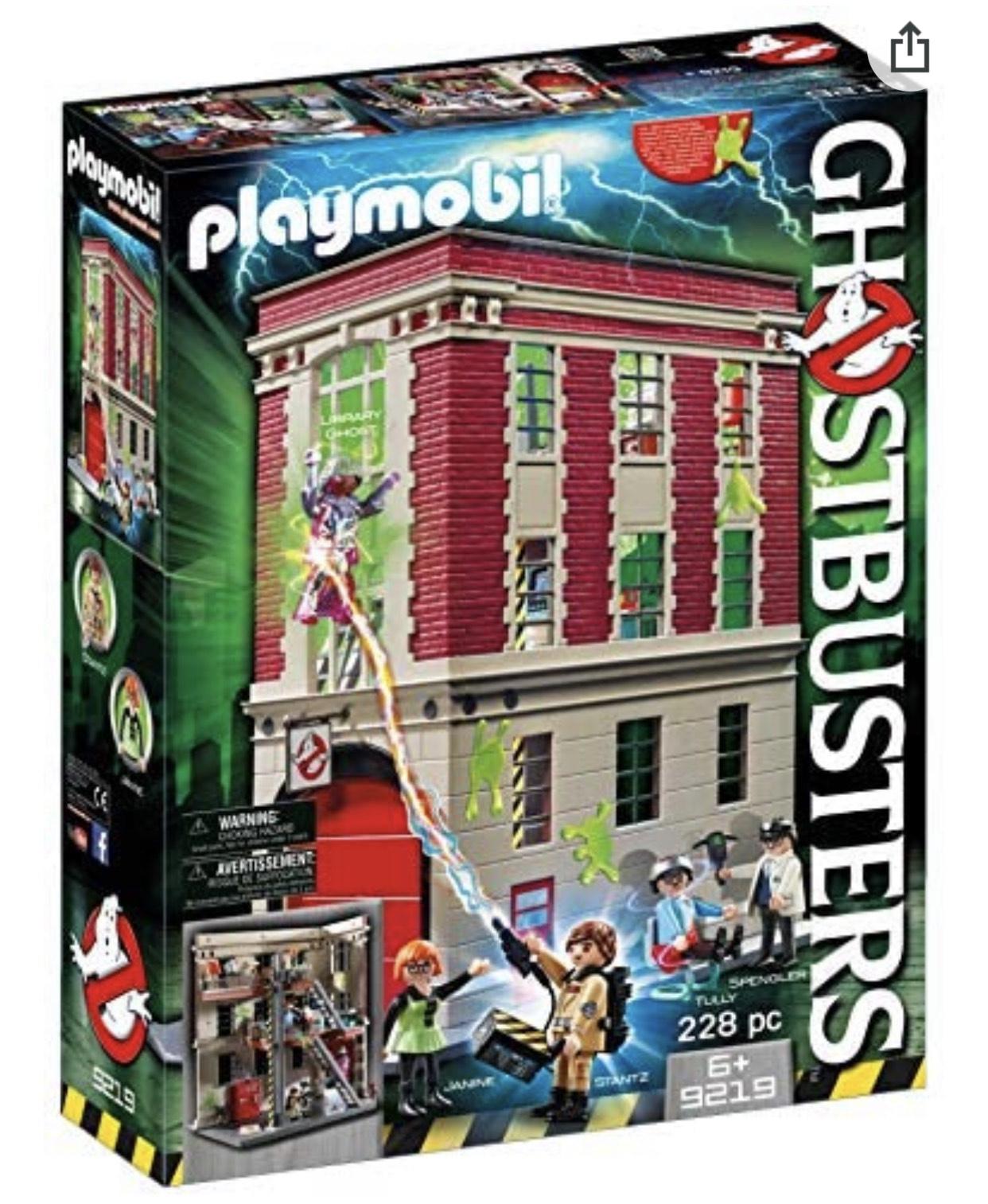 [Prime] Playmobil Ghostbusters - Quartier Général Ghostbusters (9219)