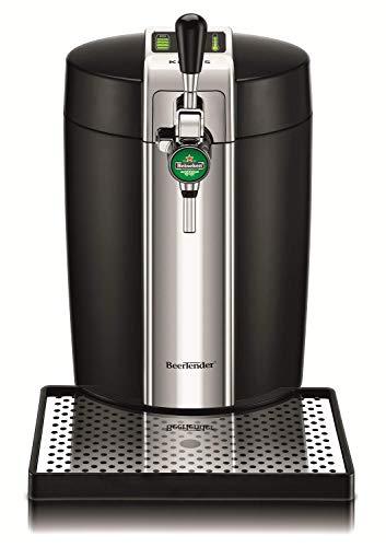 [Prime] Machine à Bière Pression Krups VB700800 BeerTender - Noir, Pompe Fût 5L