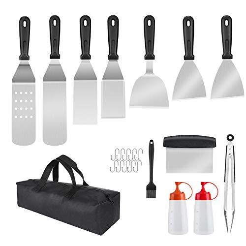 [Prime] Kit Spatule Barbecue/Plancha Aiglam - 23 pièces (Vendeur tiers)