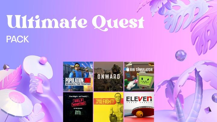 Ultimate Quest Pack : 6 jeux sur Oculus Quest 2 (Dématérialisé)