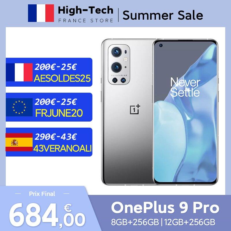 "Smartphone 6.7"" OnePlus 9 Pro 5G (Version CN, ROM Globale) - 12 Go de RAM, 256 Go (Entrepôt France - 774€ avec FRJUNE20)"