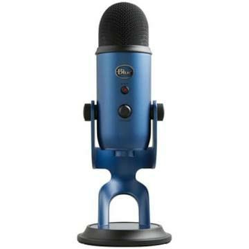 Microphone USB Blue Yeti - Midnight Blue