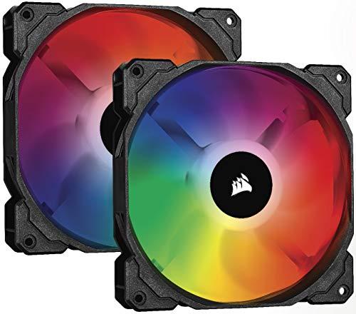 Pack de 2 Ventilateurs Corsair SP140 RGB PRO + Ligthning Node Core