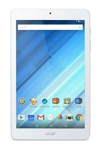 """Tablette 8"""" Acer Iconia One 8 - B1-850 Blanc (MediaTek Quad-Core, SSD 16 Go, Android)"""