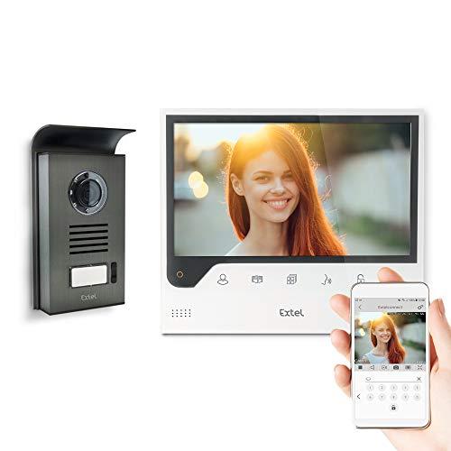 [Prime] Visiophone connecté Extel Connect - Grand écran (18cm), Apple ou Android