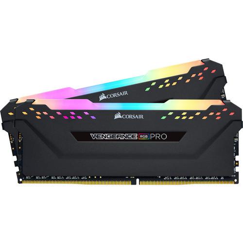 Kit mémoire RAM Corsair Vengeance RGB Pro - 16 Go (2 x 8 Go), 3200 Mhz, CL 16