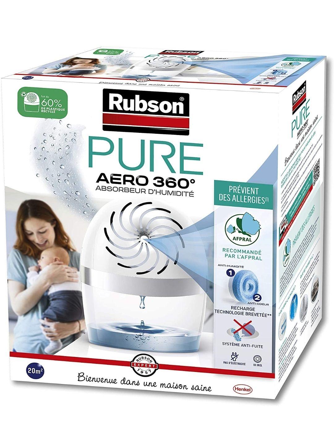 [Prime] Absorbeur d'humidité Rubson Aero 360