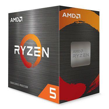 Processeur AMD Ryzen 5 5600X Wraith Stealth (3.7 GHz / 4.6 GHz)