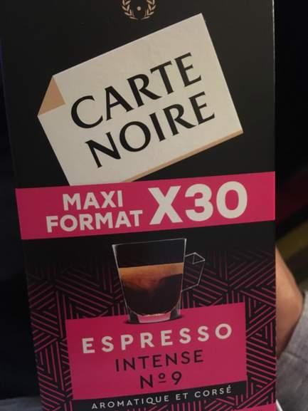 Sélection de Paquets Maxi Format de 30 Dosettes Carte Noire en Promotion