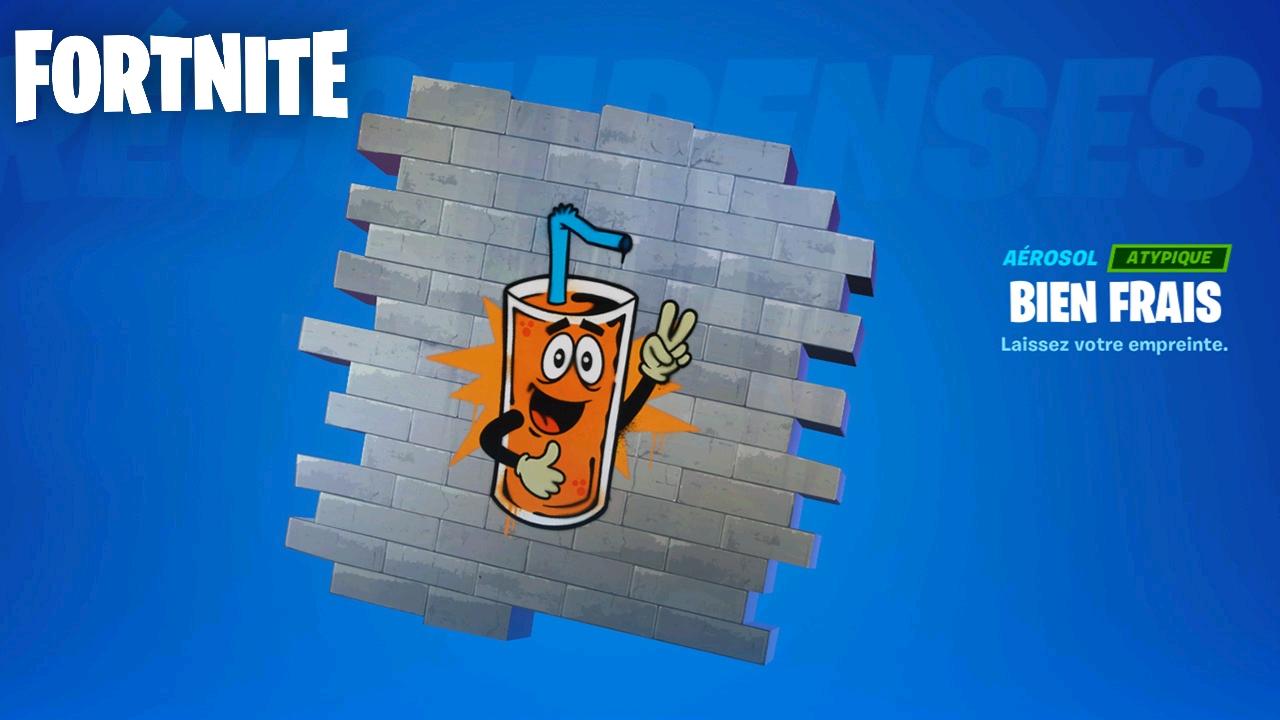 2 Sprays Atypiques offerts sur Fortnite (Dématérialisés)