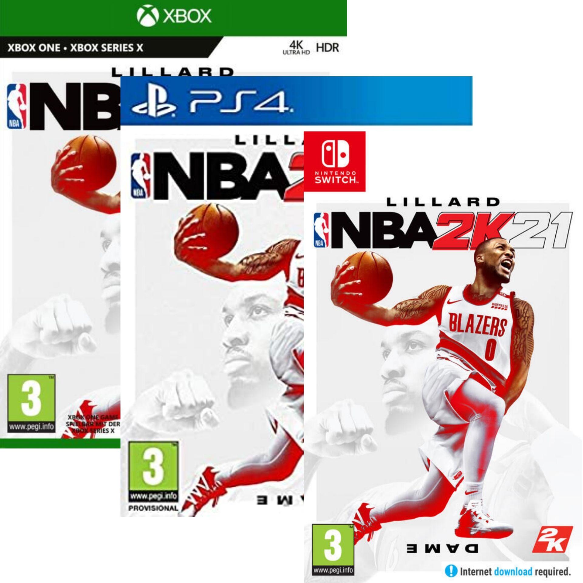 NBA 2K21 sur PS4, Xbox One ou Nintendo Switch