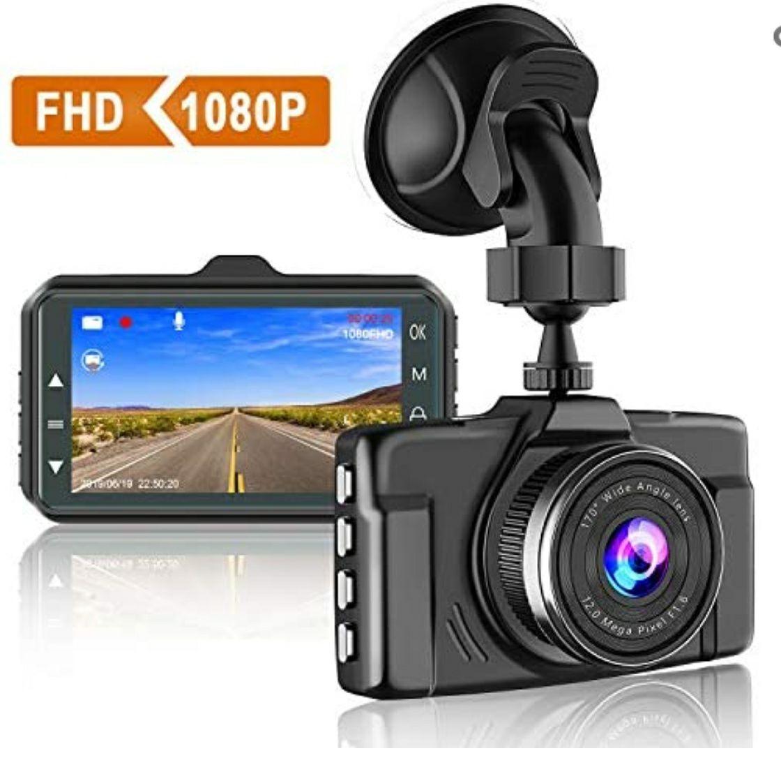 [Prime] Caméra embarquée Chortau - Full HD, 170° (Vendeur Tiers)