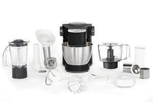 [Prime] Robot pâtissier Moulinex Wizzo QA319810 - Bol Inox 4L, 1000W