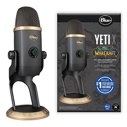 Microphone USB Blue Yeti X World of Warcraft