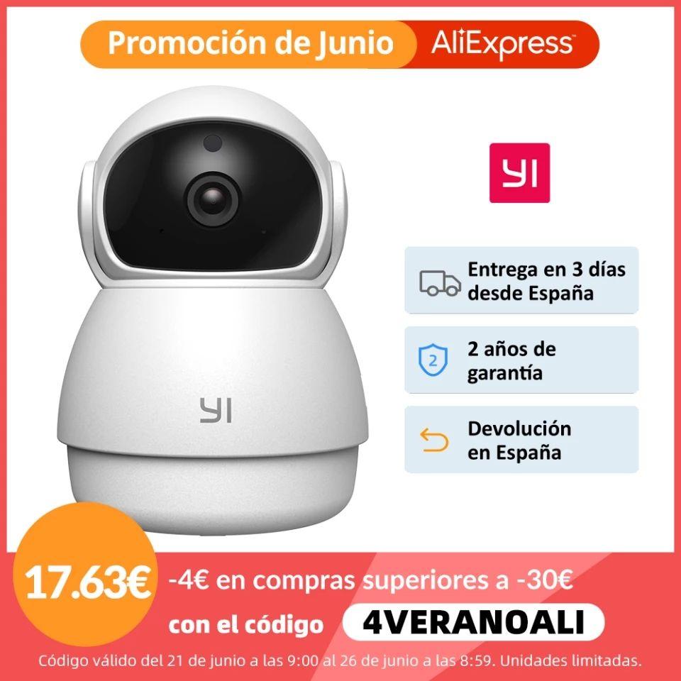 Caméra de surveillance Yi Dome - Wifi 1080p