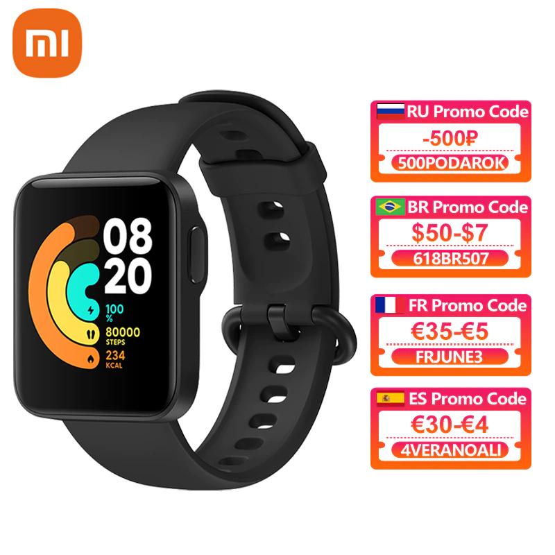 Montre connecté Xiaomi MI Watch Lite (38,31€ via Code FRJUNE3)