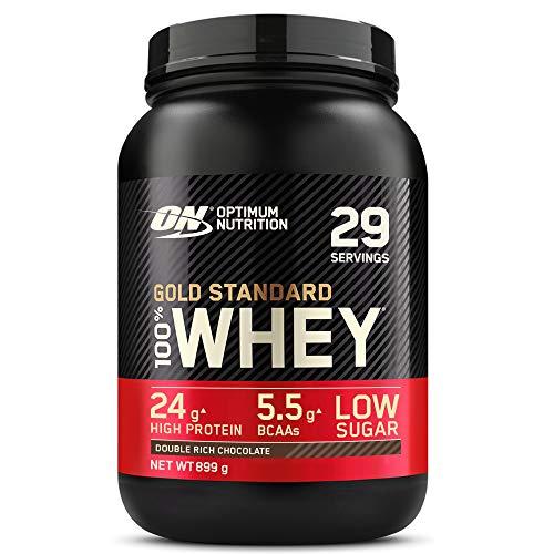 [Prime] Pot de protéines en poudre Whey Isolat Optimum Nutrition Gold Standard - Double-Rich Chocolat, 899g