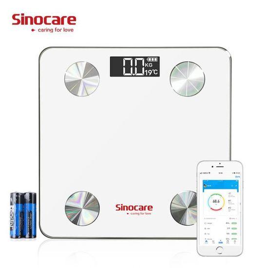 Balance connectée Sinocare GY - 12 données, Bluetooth 4.2 (vendeur tiers)
