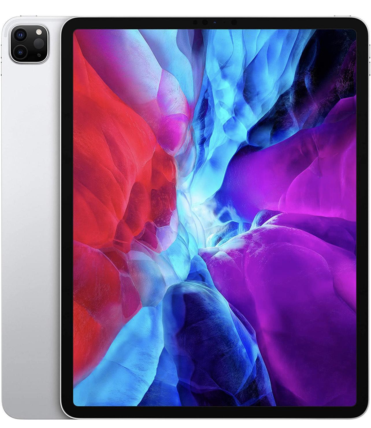 """[Prime] Tablette 12.9"""" Apple iPad Pro (4ᵉgénération) - Wi-Fi, 512Go, Argent"""