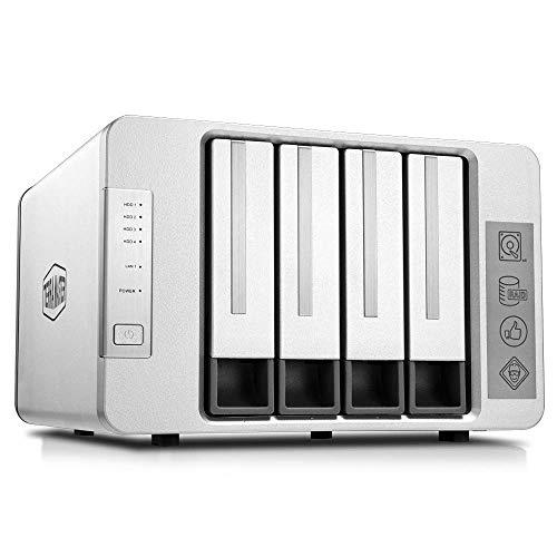 [Prime] Serveur NAS TerraMaster F4-210 - 4 baies, 1 Go de RAM, sans disque dur (vendeur tiers)