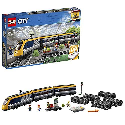 Jeu de construction Lego City : Le Train de passagers télécommandé 60197 (via coupon)