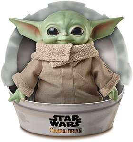 [Prime] Peluche Mattel Star Wars: The Mandalorian - The Child Yoda (28 cm)