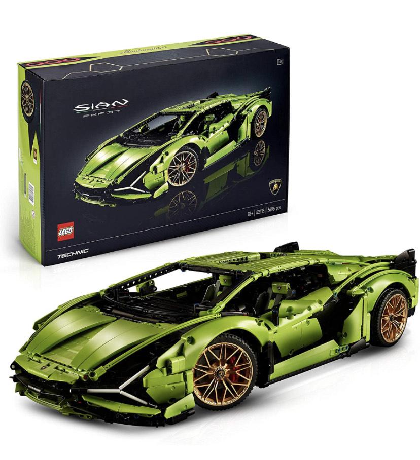 Jouet Lego Technic - Lamborghini Sián FKP 37 (42115) (via coupon)