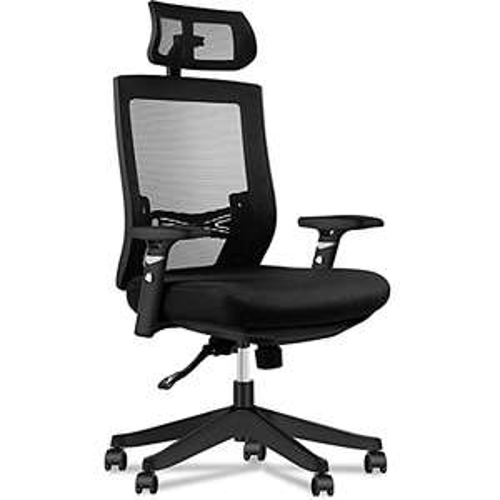 [Prime] Chaise de bureau ergonomique Aiidoits en maille - Noir (vendeur tiers)