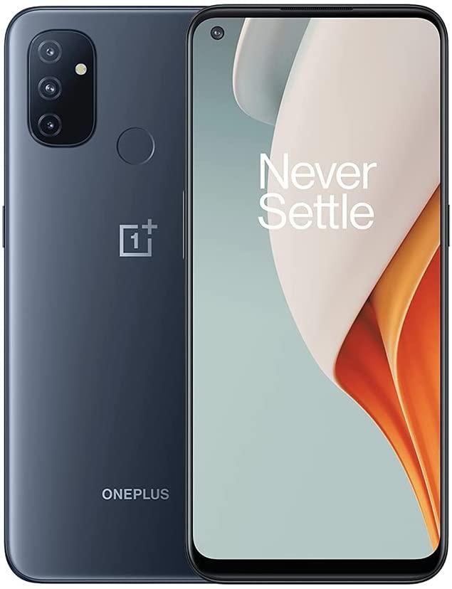 "Smartphone 6.52"" OnePlus Nord N100 - HD+ 90 Hz, SnapDragon 460, 4 Go de RAM, 64 Go, 5000 mAh, Charge 18W (Entrepôt France)"