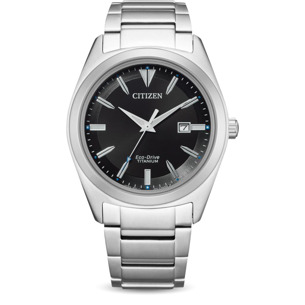 Montre à quartz Citizen AW1640-83E Eco-Drive Super Titanium - 41 mm, verre cristal