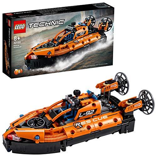 [Prime] Jeu de Construction Lego Technic Aéroglisseur de Sauvetage d'un Avion, Modèle 2 en 1 (Via Coupon)