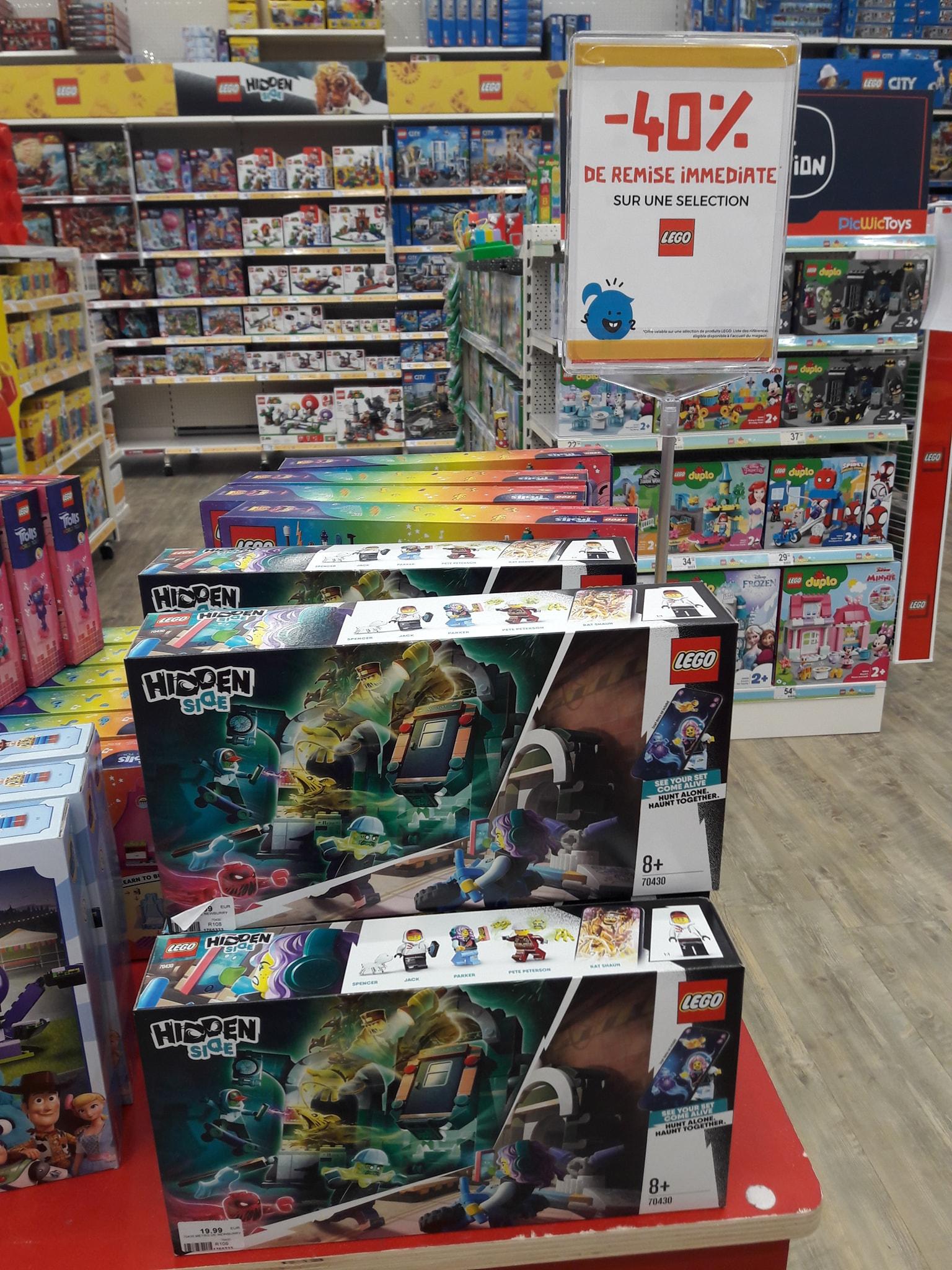 40% de réduction sur une sélection de jouets Lego - Thillois (51)