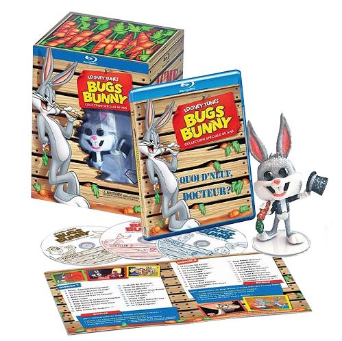 [Prime] Coffret Blu-ray Bugs Bunny 80 ans - 60 Episodes + 1 Figurine
