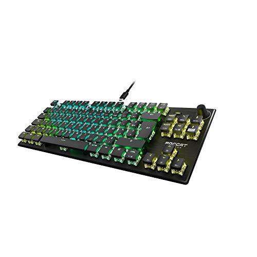[Prime] Clavier de jeu optique compact RGB Roccat Vulcan TKL Pro - Tenkeyless (TKL), Optical Switch (linéaire)