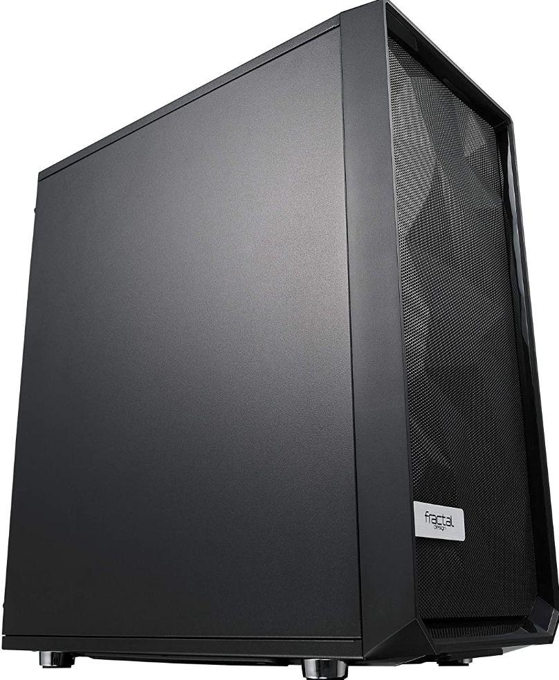 Boîtier PC Fractal Design Meshify C Solid Side Panel - Noir, ATX (Frais d'importation et frais de port inclus)