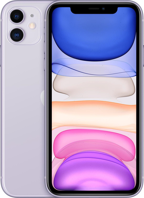 "[Prime] Smartphone 6.1"" Apple iPhone 11 - full HD Retina, A13, 4 Go de RAM, 256 Go, violet"