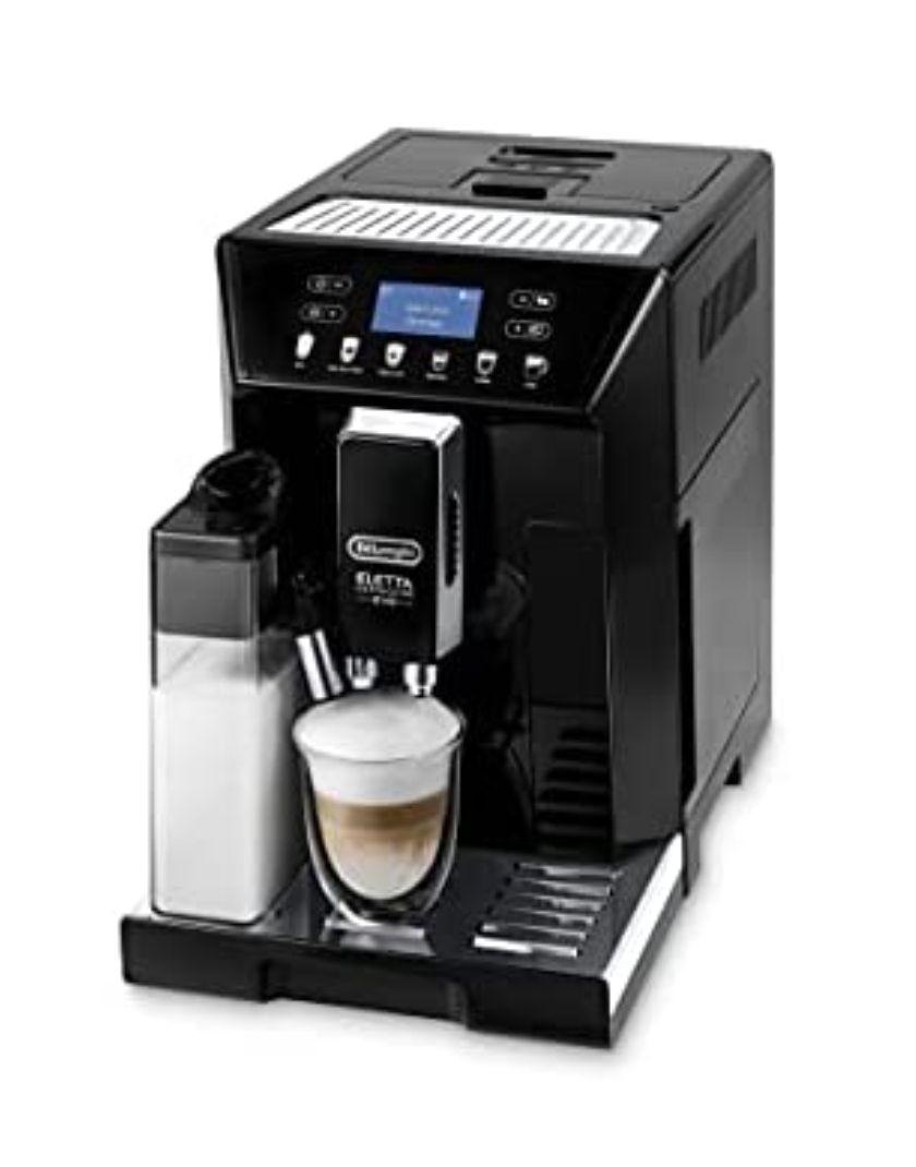 Machine à café automatique avec système à lait Delonghi ECAM 46.860.B