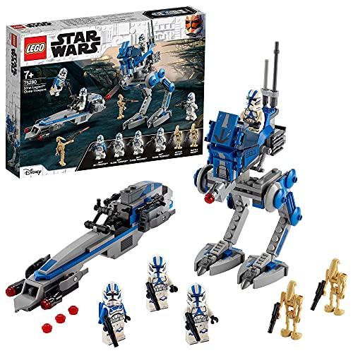 2 jouets Lego achetés = le 3ème offert (le moins cher) - Ex : 3 LEGO 75280 StarWars LesCloneTroopersdela501èmelégion