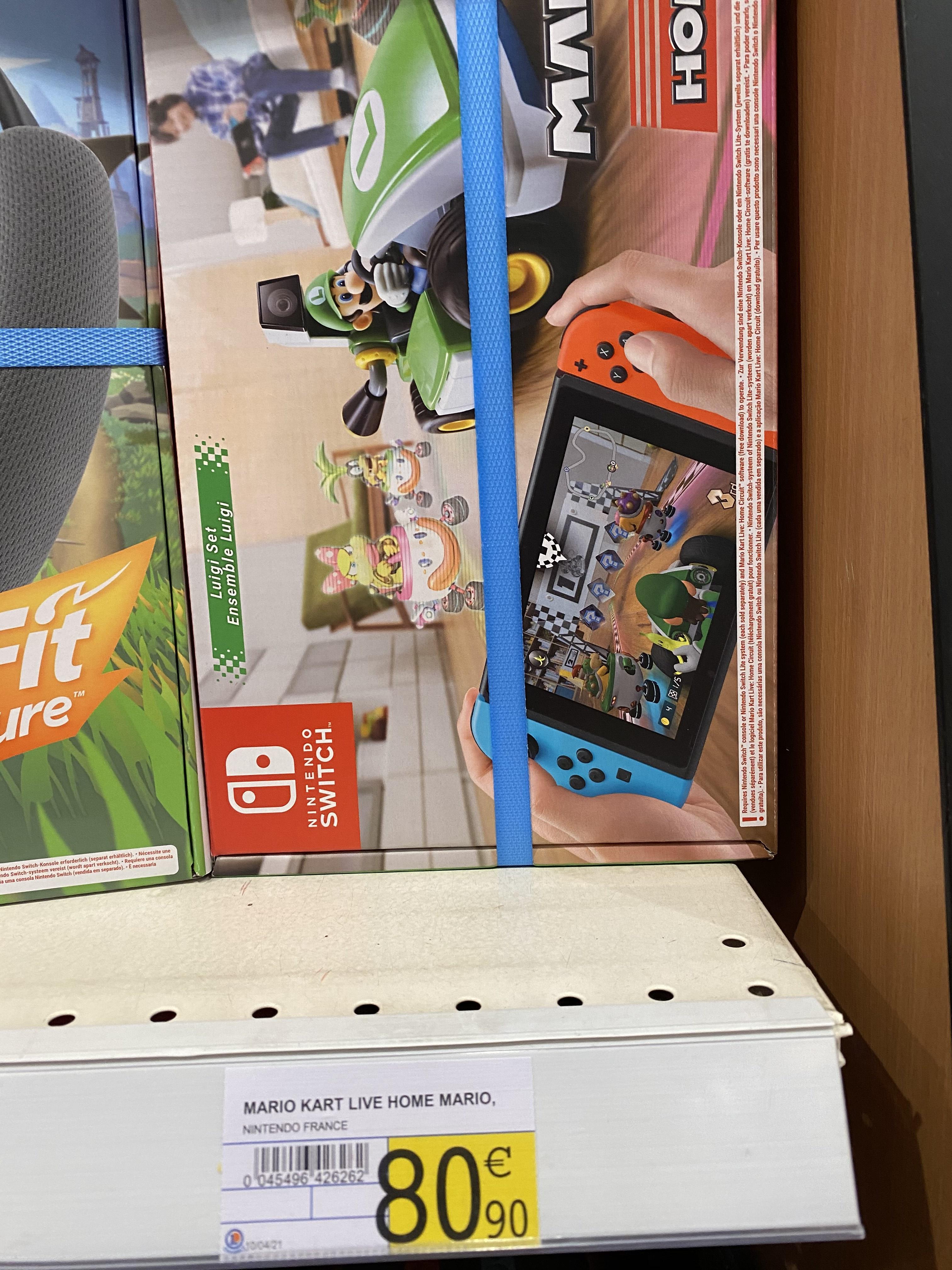 Jeu + accessoire Mario Kart Live: Home Circuit Luigi - Chambly (60)