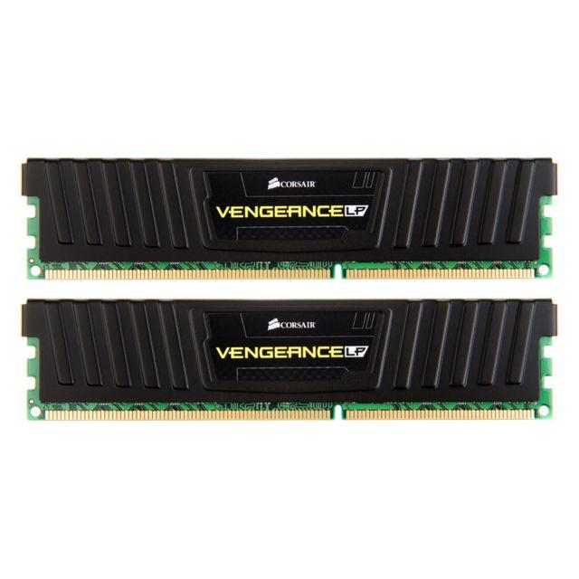 Kit de RAM Corsair Vengeance LP Series Black DDR3-1600 CL9 - 8 Go (2×4)