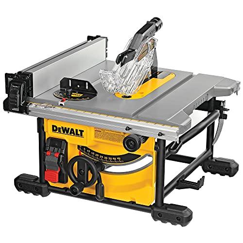 Scie circulaire de table compacte Dewalt DWE7485-QS - 210 mm