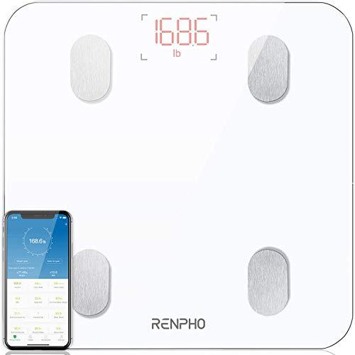 [Prime] Balance connectée impédancemètre Renpho - 13 données, blanc (vendeur tiers)
