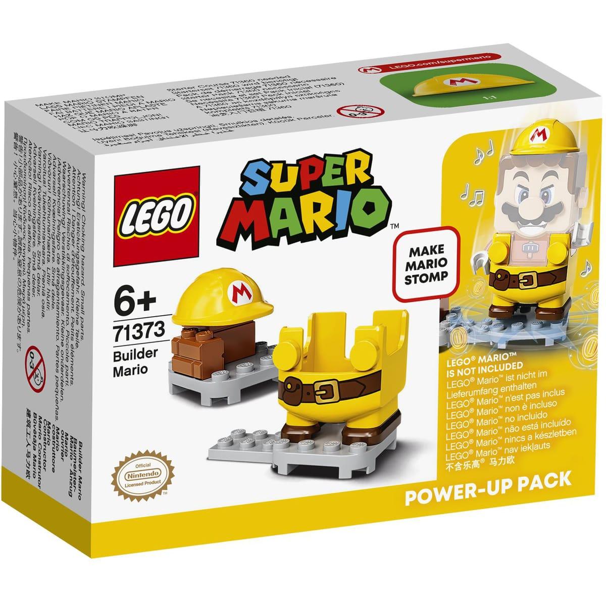 Jouet Lego Super Mario 71373 - Costume de Mario ouvrier(via 5,99 sur la carte de fidélité)