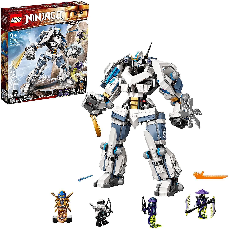 Lego Ninjago Legend (71738) - Le Robot de Combat Titan de Zane (Via coupon)