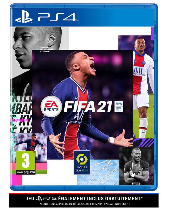 Jeu FIFA 21 sur PS4 (& PS5)