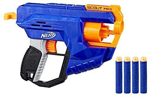 [Prime] Jouet pistolet Nerf Elite Scout MKII + 4 Fléchettes