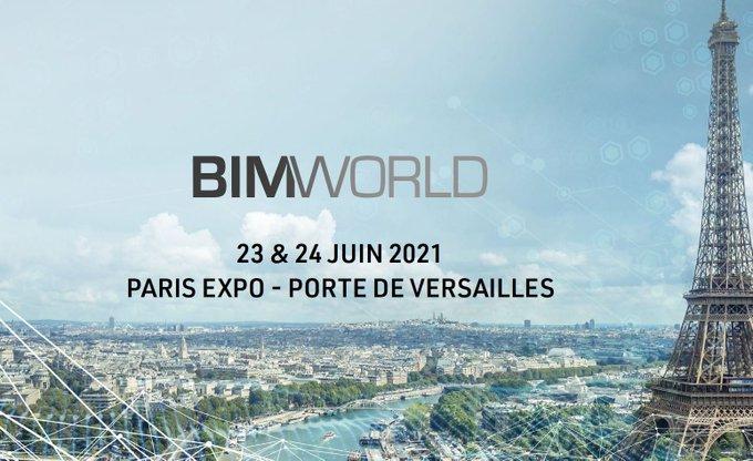 Invitation au salon BIM World - Porte de Versailles (75)
