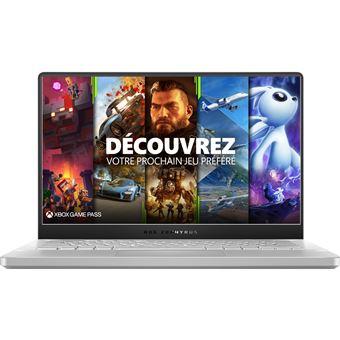 """PC Portable 14"""" Asus Zephyrus G14-GA401QM-009T - 120Hz, Ryzen 9 5900HS, RTX 3060, 32 Go de RAM, 1 To SSD"""