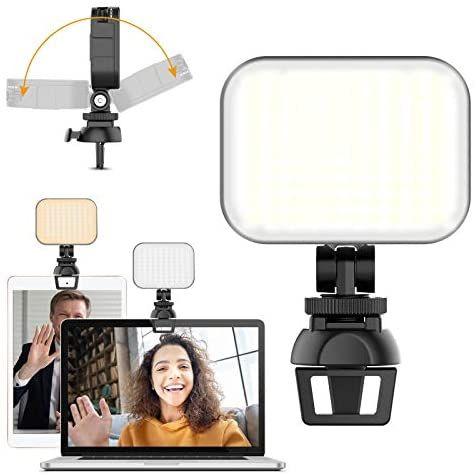 [Prime] Eclairage Visioconférence Ulanzi LED avec Clip (Vendeur Tiers)