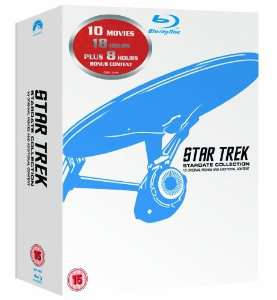 Coffret Blu-ray Stardate Collection - 10 films Star Trek VF et VOST (12 Disques)